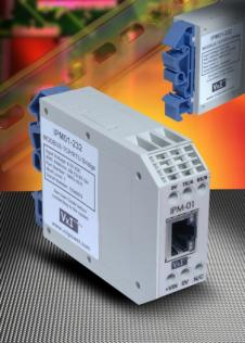 IPM01 - MODBUS TCP RTU Bridge